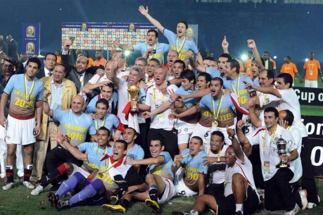 منتخب مصر بطل أفريقيا 2010