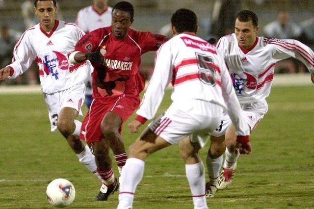 الزمالك والوداد المغربي 2003