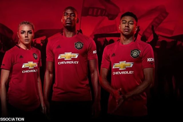 قميص مانشستر يونايتد الجديد