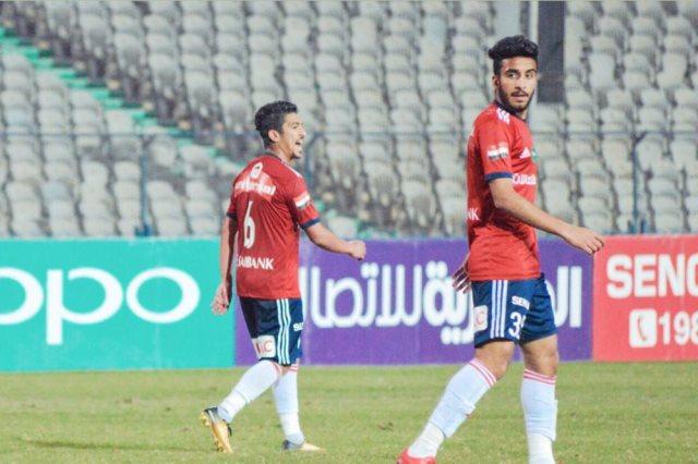 محمود فهمي مهاجم نادي النصر