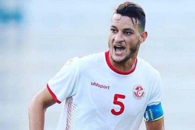 نسيم هنيد مدافع منتخب تونس