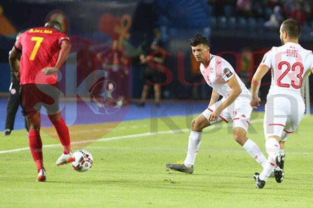 مباراة تونس وأنجولا