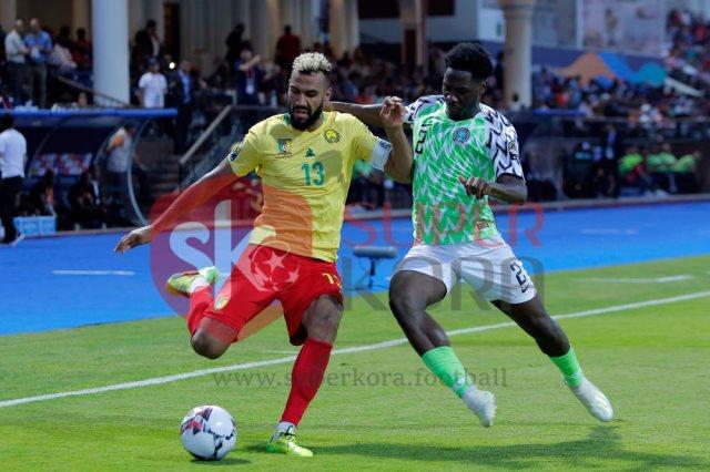 جانب من مباراة نيجيريا والكاميرون