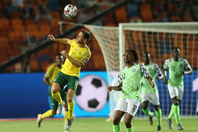 مباراة نيجيريا وجنوب إفريقيا