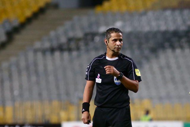 محمود عاشور حكما لمواجهة الأهلى وطنطا فى الدوري الممتاز