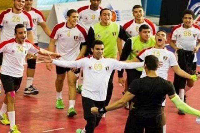 ناشئين منتخب مصر لكرة اليد