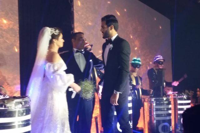 كواليس زفاف مروان محسن نجم الأهلى والمنتخب الوطنى