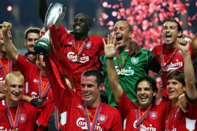 ليفربول بطل سوبر أوروبا 2005