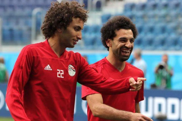 عمرو وردة ومحمد صلاح