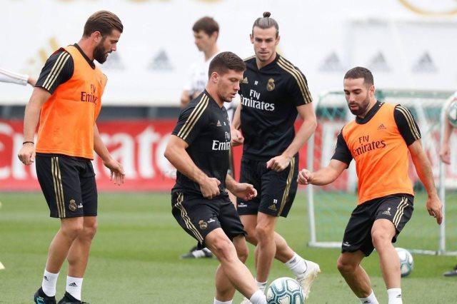 ريال مدريد يختتم الاستعداد لمواجهة بلد الوليد - سوبر كورة