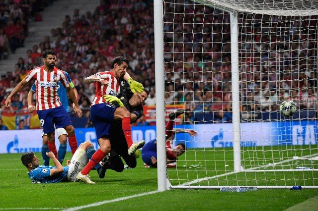 هدف تعادل أتلتيكو مدريد ضد يوفنتوس