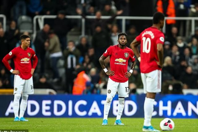 سقوط مانشستر يونايتد