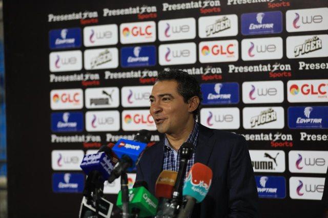 10 مشاهد من المؤتمر الصحفى لمدير منتخب مصر محمد بركات