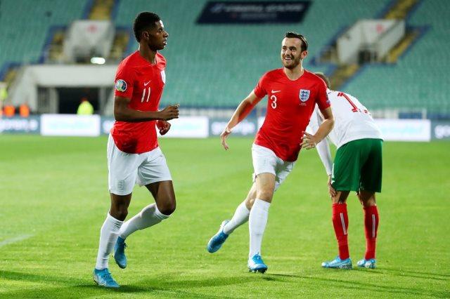 بلغاريا ضد إنجلترا