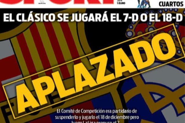 الصحافة الاسبانية