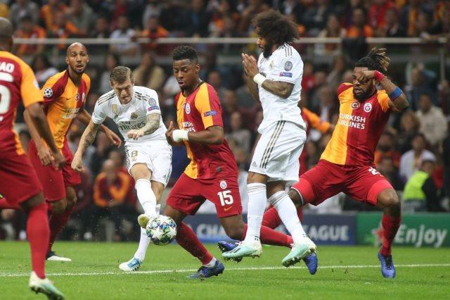 جالطة سراي ضد ريال مدريد