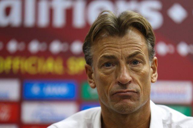 الفرنسي هيرفي رينارد مع منتخب السعودية