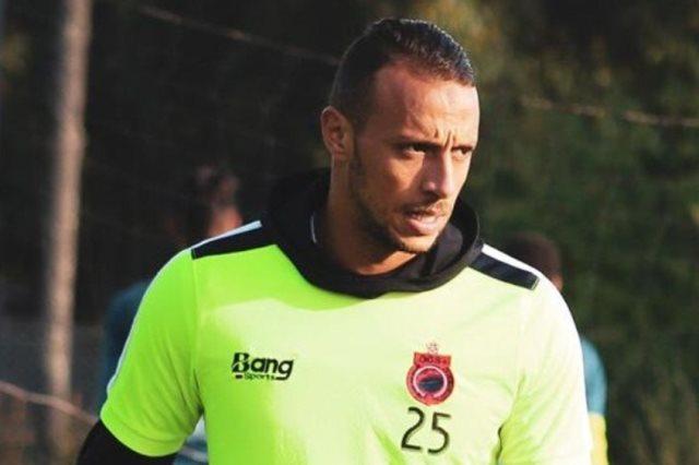 زكريا لهلالي لاعب فريق أولمبيك آسفي المغربى