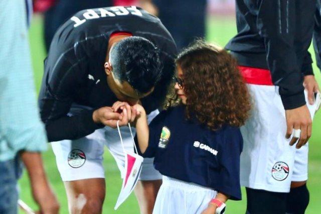 حفيدة الجنايني مع مصطفي محمد