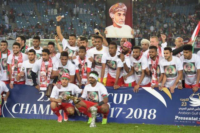 منتخب عمان بطل خليجي 23