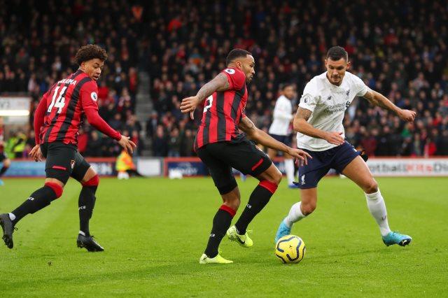 بورنموث ضد ليفربول
