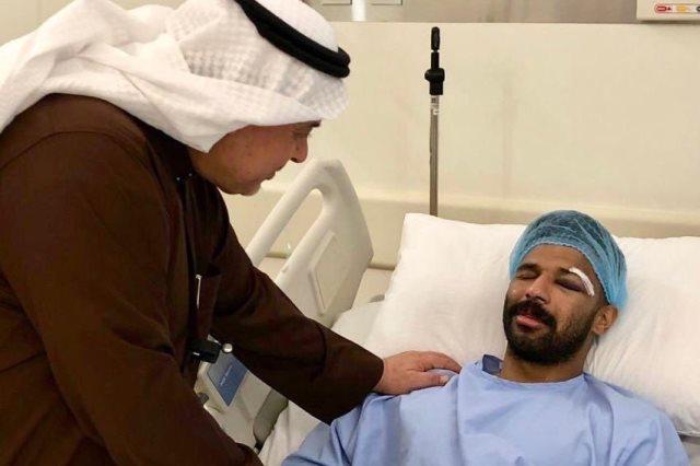 حارس الأهلي السعودي محمد العويس