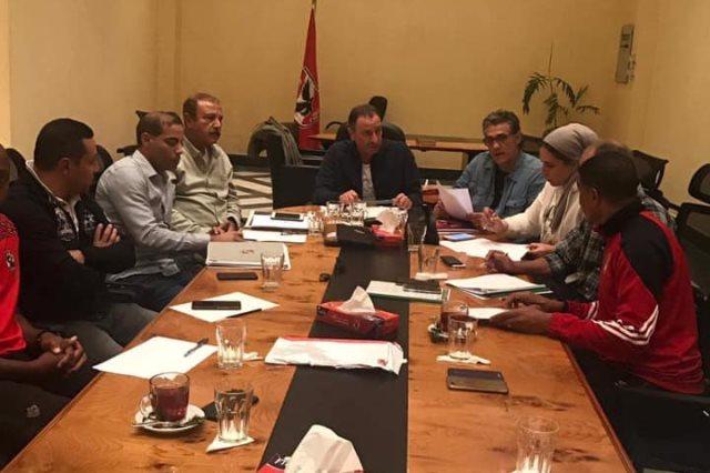 لجنة التخطيط بالاهلي
