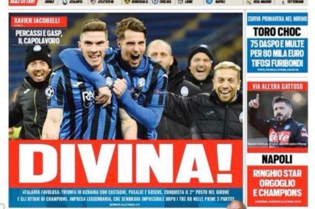 الصحافة الإيطالية