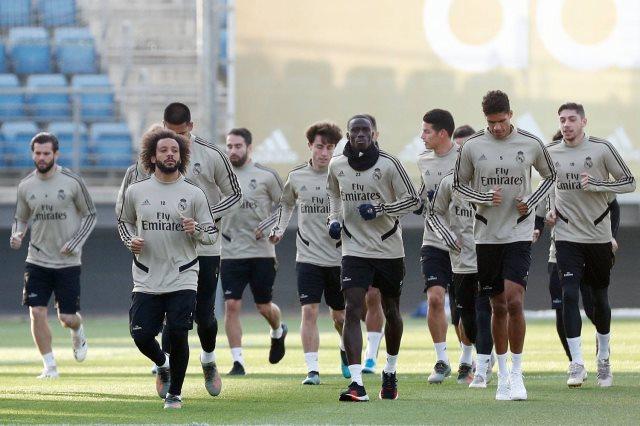 ريال مدريد يختتم استعداداته لمواجهة كأس ملك إسبانيا