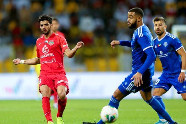 النصر ضد شباب الاهلي دبي