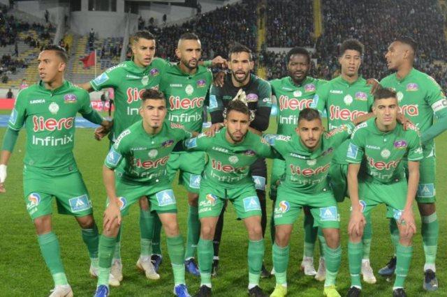 الصراع يتجدد بين الرجاء واتحاد الكرة المغربي.. الأخضر يرفض تأجيل مباراة الدوري - سوبر كورة