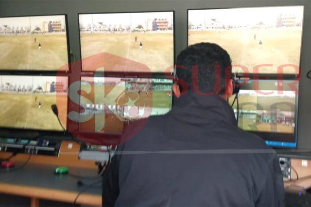 تقنية الفار مع الكرة المصرية