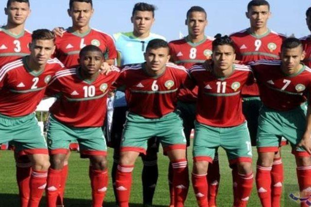 المنتخب المغربي أقل من 20 عاما