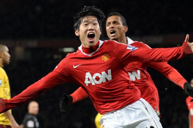 بارك جي سونج مع مانشستر يونايتد