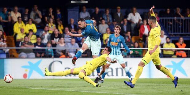 أتلتيكو مدريد يتعادل مع فياريال