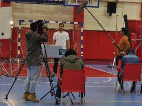 كريم هنداوي لاعب منتخب مصر لكرة اليد