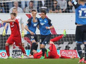 هوفينهايم يهزم فرانكفورت 1-0