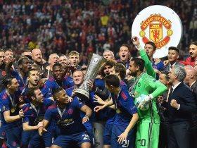 مانشستر يونايتد بطل يوروبا ليج