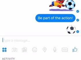 الفيس بوك وكرة القدم