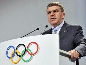 توماس باخ رئيس اللجنة الأولمبية الدولية