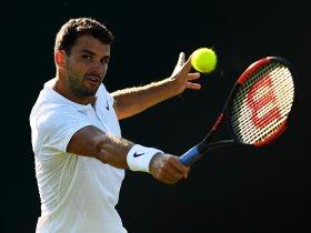 البلغاري جريجور ديميتروف لاعب التنس