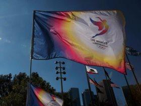 شعار ملف لوس أنجلوس لاستضافة دورة الألعاب الأولمبية