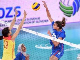 مباراة مصر والصين في بطولة العالم لشابات الطائرة