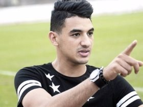 محمد حمدي زكي مهاجم فريق سموحة