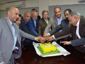 المهندس إبراهيم عثمان ومجلس إدرة الإسماعيلي