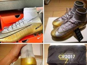 حذاء رونالدو الجديد