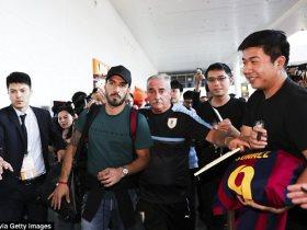 http://www.superkora.football/News/10/80619/استقبال-حافل-لسواريز-بعد-الوصول-إلى-الصين