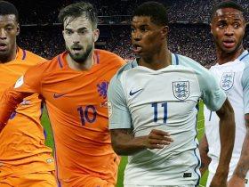 هولندا فى مواجهة إنجلترا