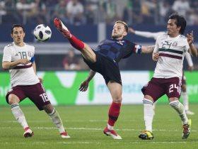 المكسيك خسرت من كرواتيا بهدف