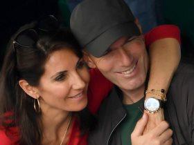 زيدان وزوجته